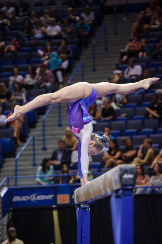 Peyton Ernst. (Photo from USAG by John Cheng or Geoff Bolte)