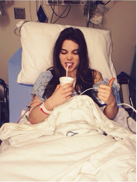 tbt to when I had surgery.... wait, jk, THAT WAS TODAY!! 4th times a charm right;)